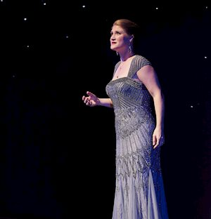 Surprise Guest Jane Archibald performs, Centre Stage 2017. Photo by Michael Cooper