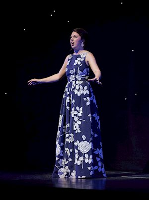Third Prize winner Anna-Sophie Neher performs, Centre Stage 2017. Photo by Michael Cooper