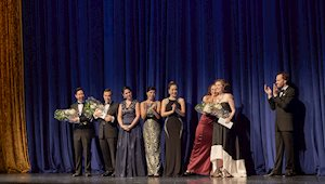 Simone McIntosh wins First Prize, Centre Stage 2016. Photo by Michael Cooper
