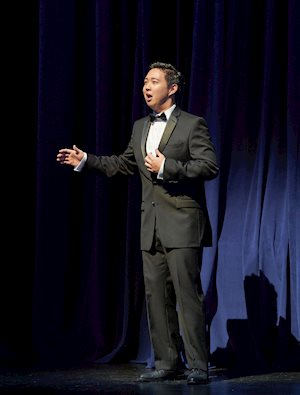Second Prize Winner Samuel Chan performs, Centre Stage 2016. Photo by Michael Cooper