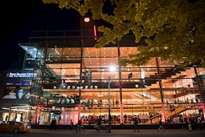 Exterior of the Four Seasons Centre for the Performing Arts, Centre Stage 2015. Photo by Ikonica