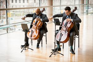 VC2 Cello Duo, photo: Kevin Lloyd