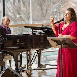 Tomson Highway and Patricia Cano, photo: Chris Hutcheson