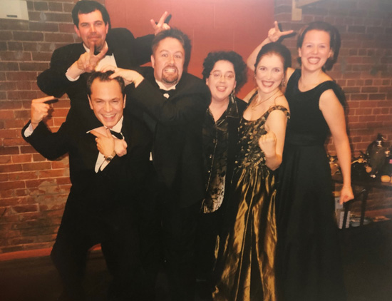 Liz Upchurch with 1999 Ensemble
