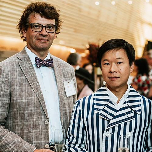 Eric Tang and James Miller