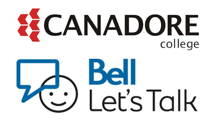 Canadore College and Bell Let's Talk Logos