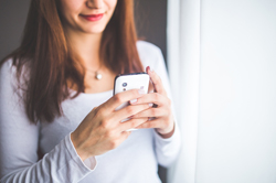 Girl on a cellphone