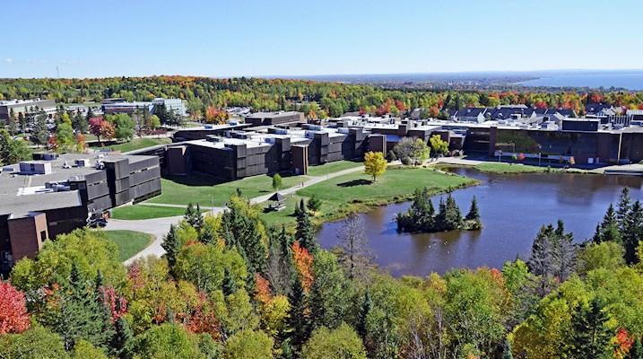 College drive campus