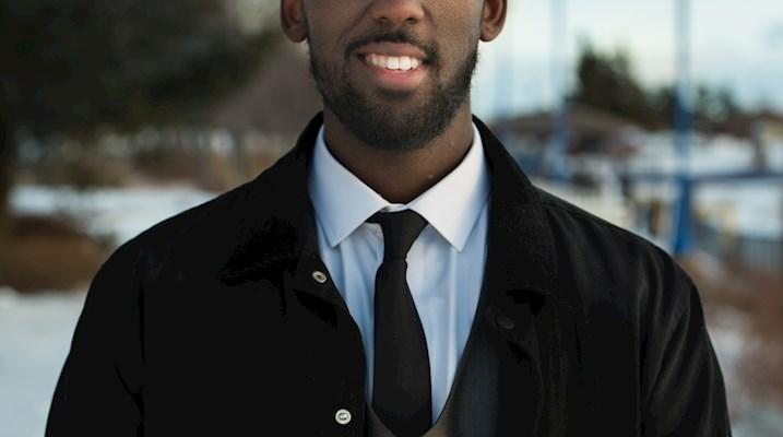 Sharmarke Mohamed, Canadore Student