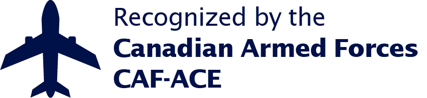Recognized by the Canadian Armed Foces