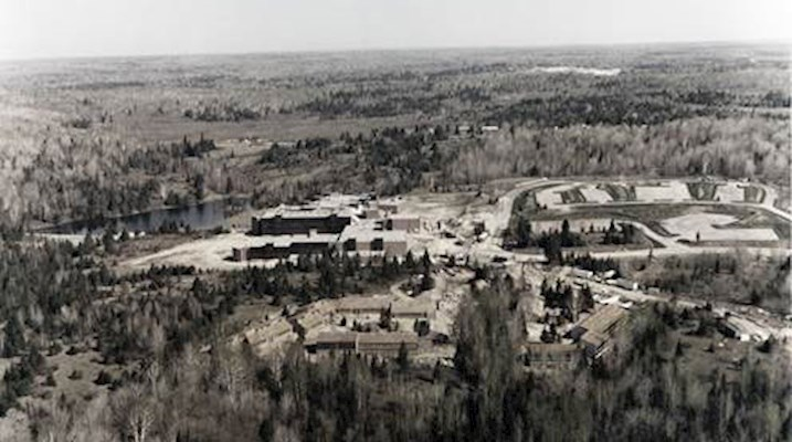 Canadore College Campus from 1972