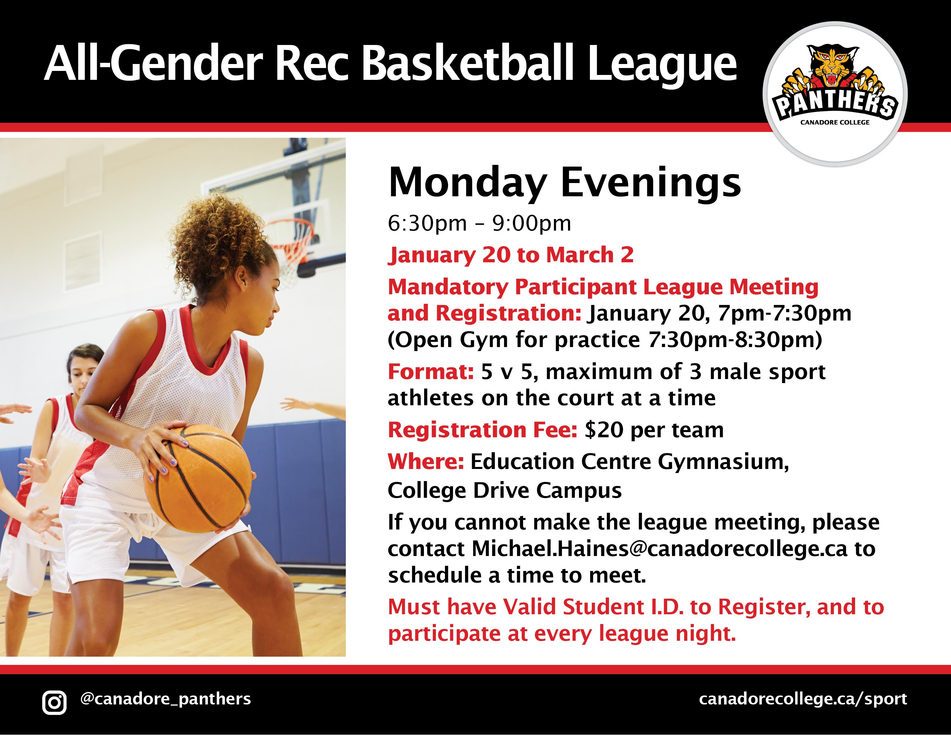 All gender basketball