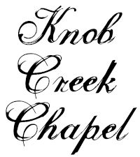 Knob Creek Chapel