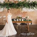 The Amsler Building with a bride at the sweetheart table.