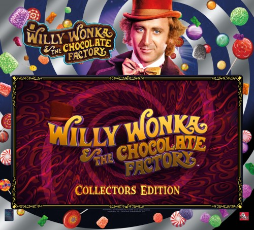 WILLY WONKA & THE CHOCOLATE FACTORY COLLECTORS EDITION - Full Sized Preview