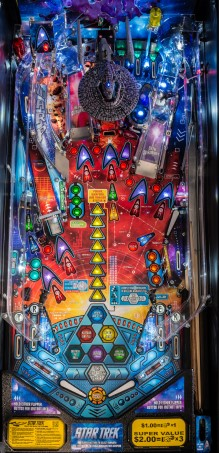 STAR TREK PRO PINBALL Image - Click To Enlarge