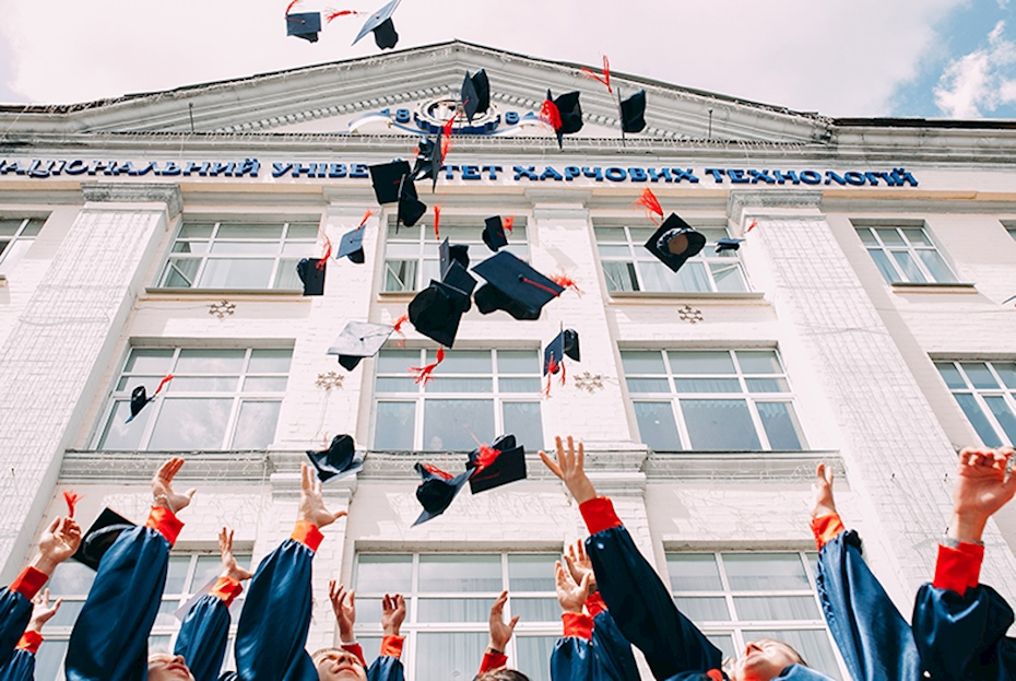 Research shows 86 per cent of college graduates employed within six months