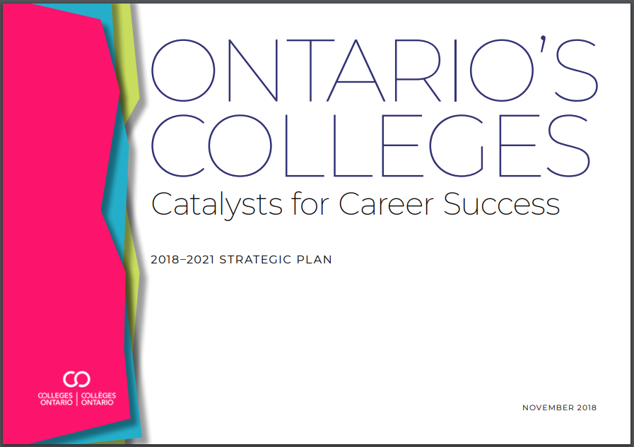 Colleges Ontario Strategic Plan