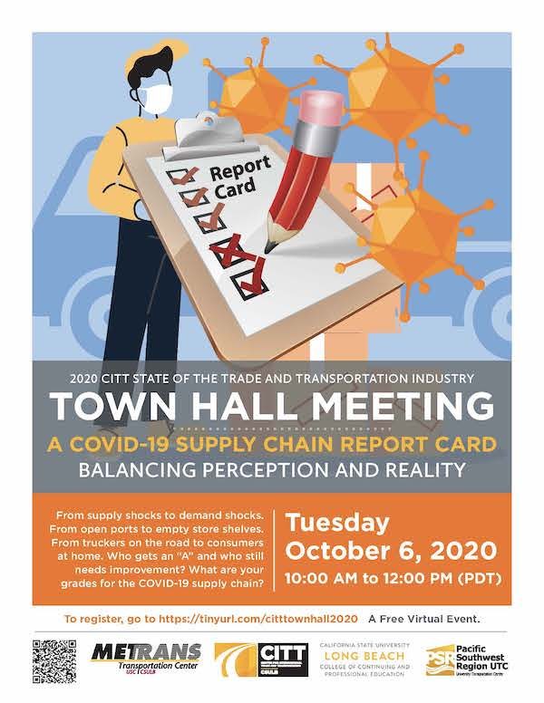 CITT 2020 Town Hall flyer