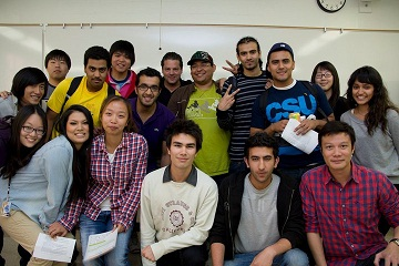 Intensive English Program students
