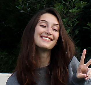 Study Abroad student Arianna Salomon