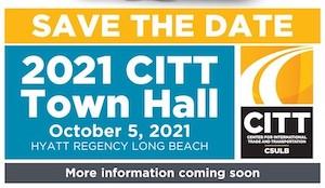 CITT 2021 Town Hall save the date