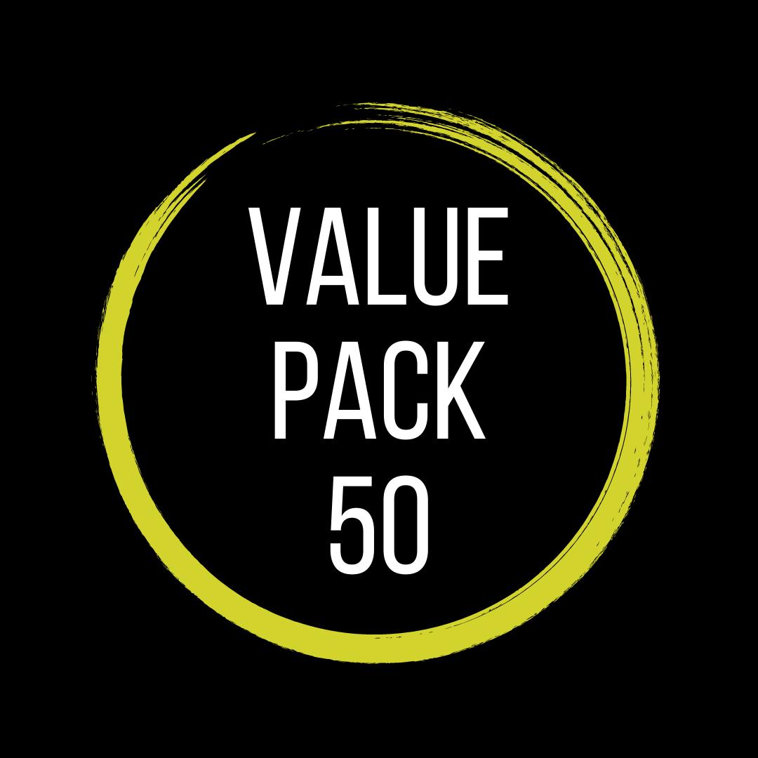 Value Pack 50