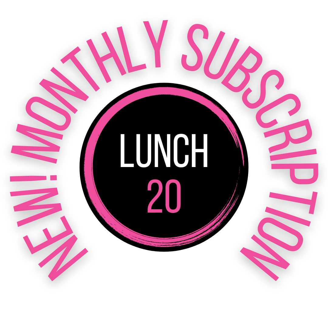 Lunch 20 Subscription