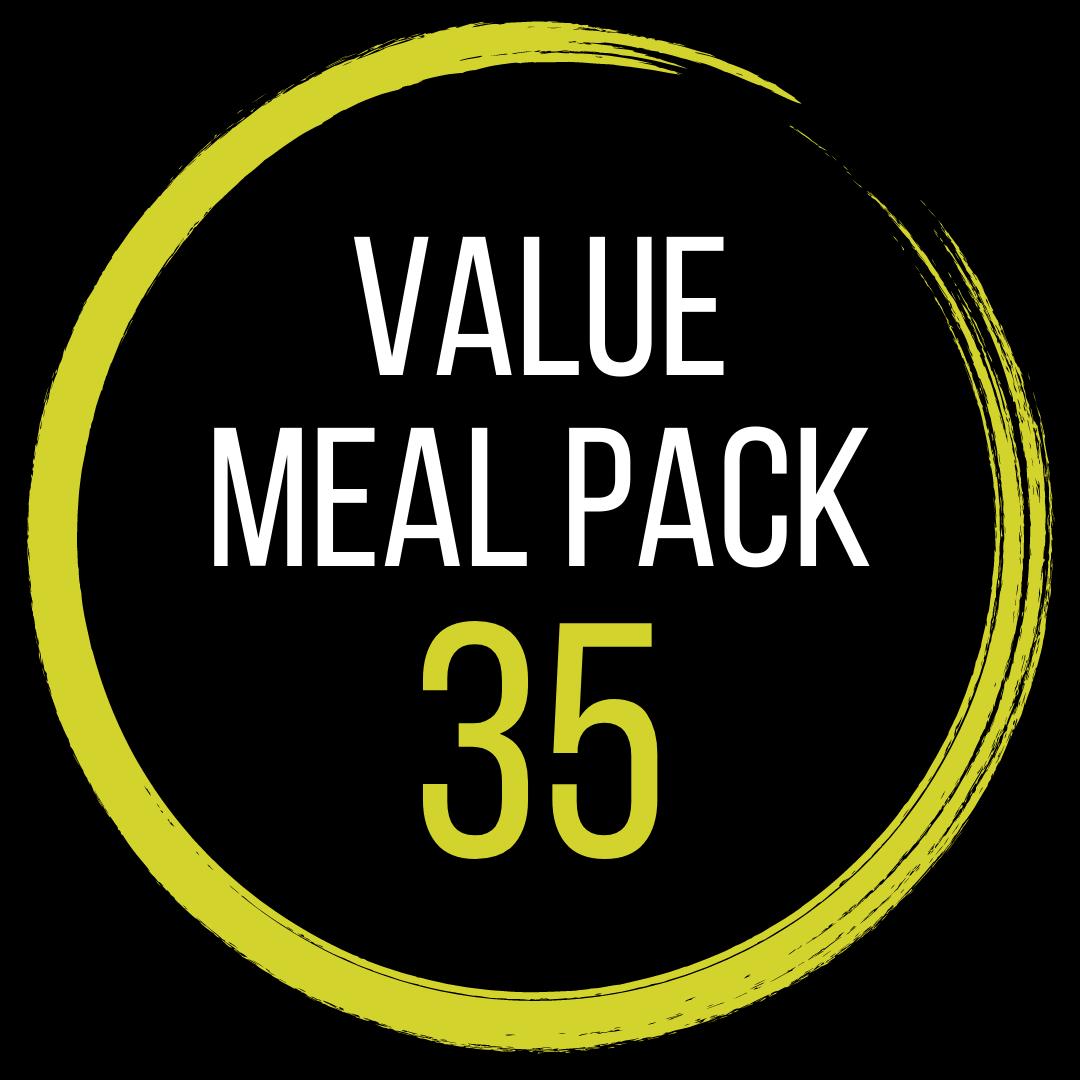 Value Meal Pack 35