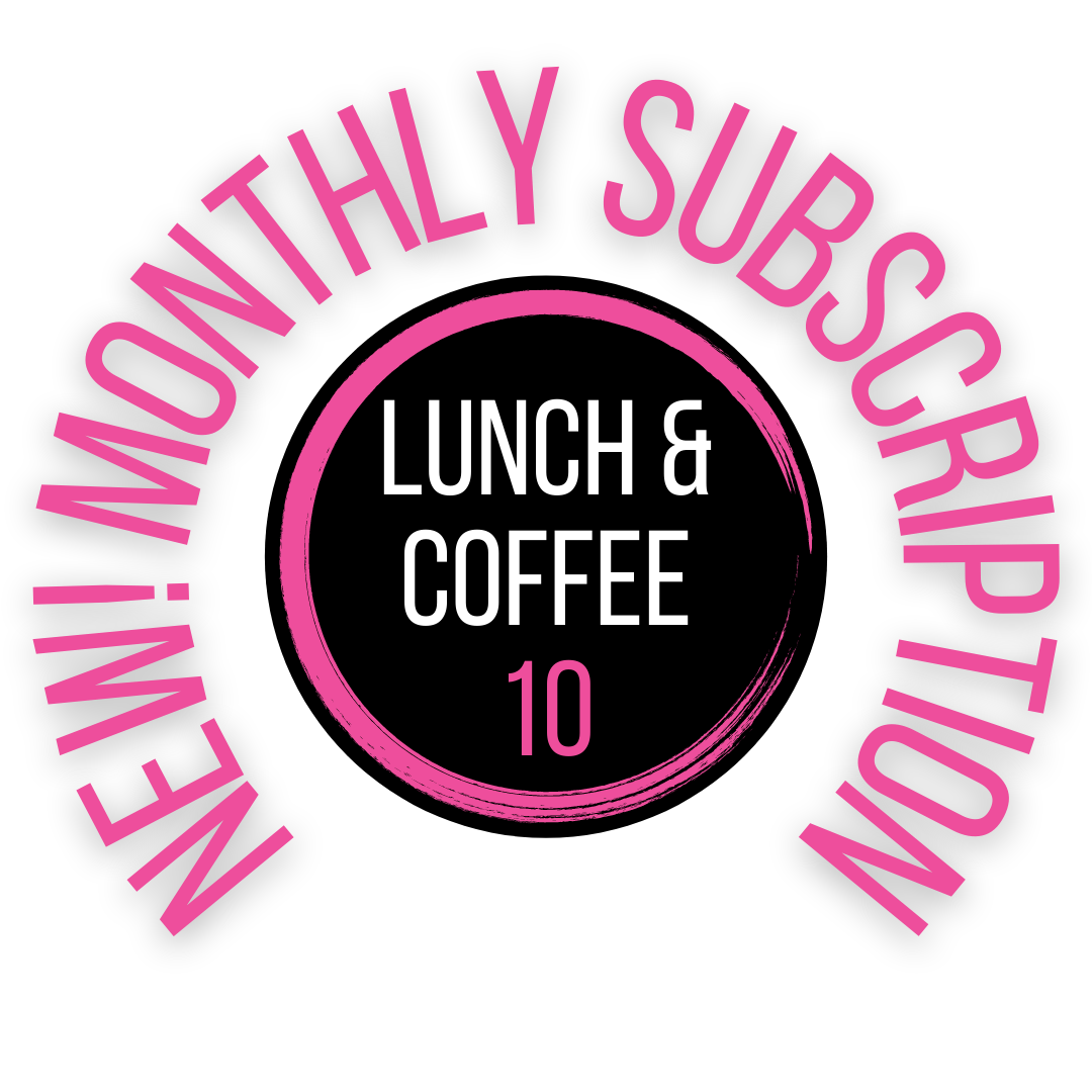Lunch + Coffee 10   Subscription