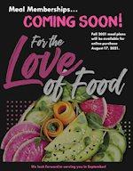 COMING SOON: Meal Memberships