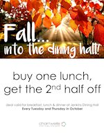 Fall..into the dining hall!