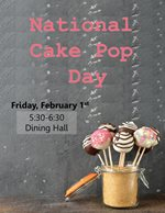 National Cake Pop Day