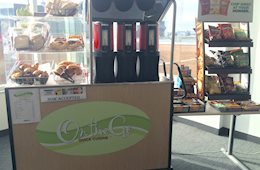 OTG Quick Cuisine - Mobile Cart