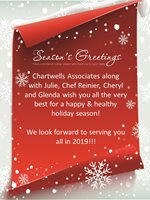 Happy Holidays from Chartwells