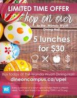 Hop On Over to the Wanda Wyatt Dining Hall