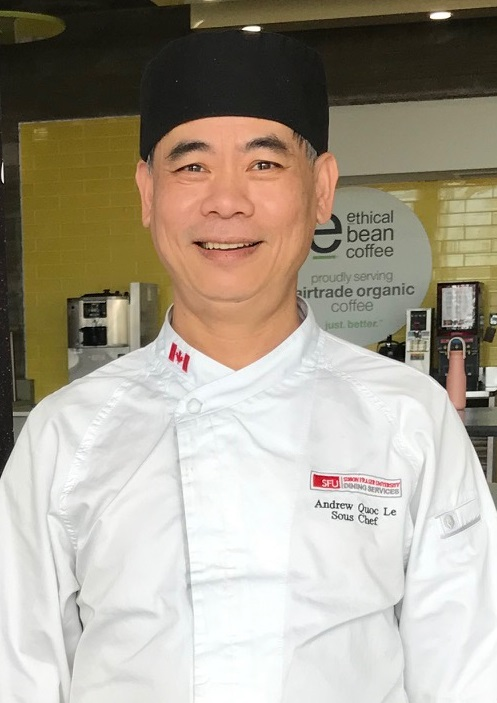Andrew Le - Dining Hall, Sous Chef