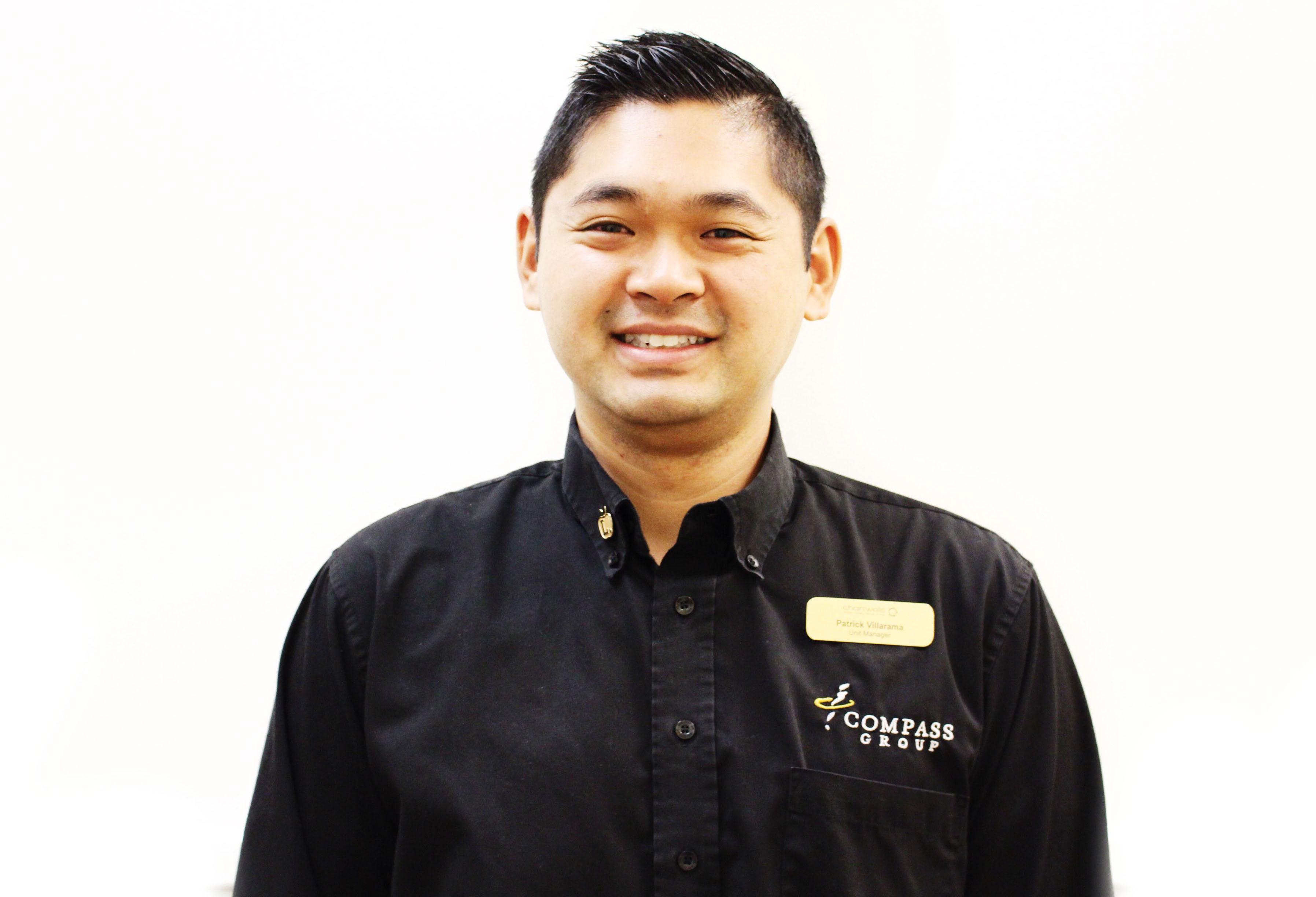 Patrick Villarama - Assistant Food Service Director