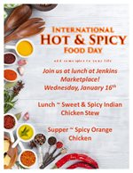 Hot & Spicy Food Day