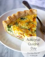 National Quiche Day