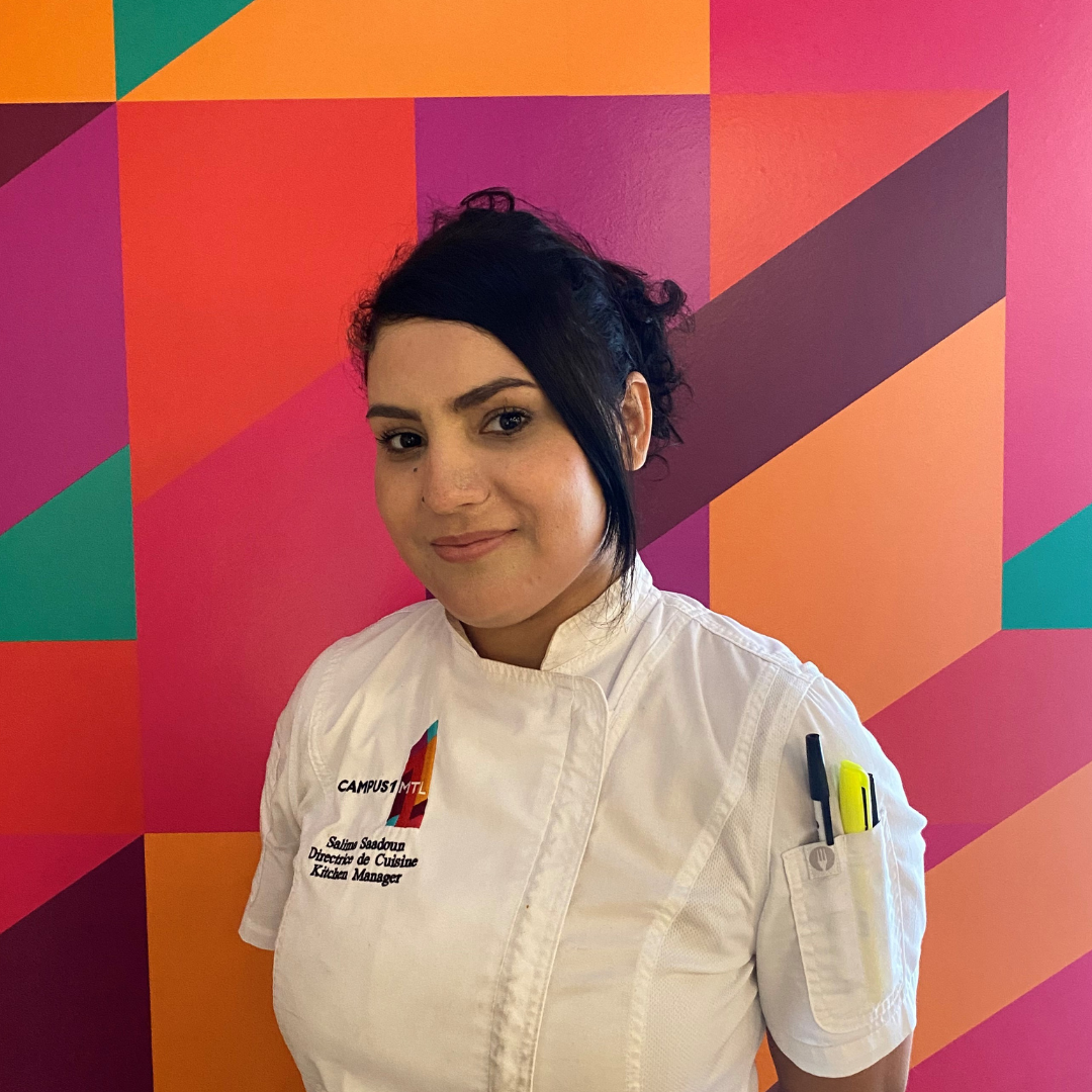Salima Saadoun - Kitchen Manager
