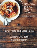 It's World Pasta Day!