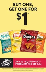 Frito-Lay: BOGO for $1