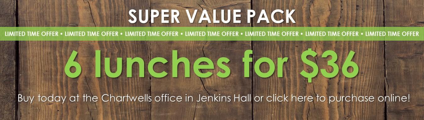 super value pack banner