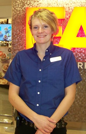 Marijke Besaw - Food Services Assistant Director