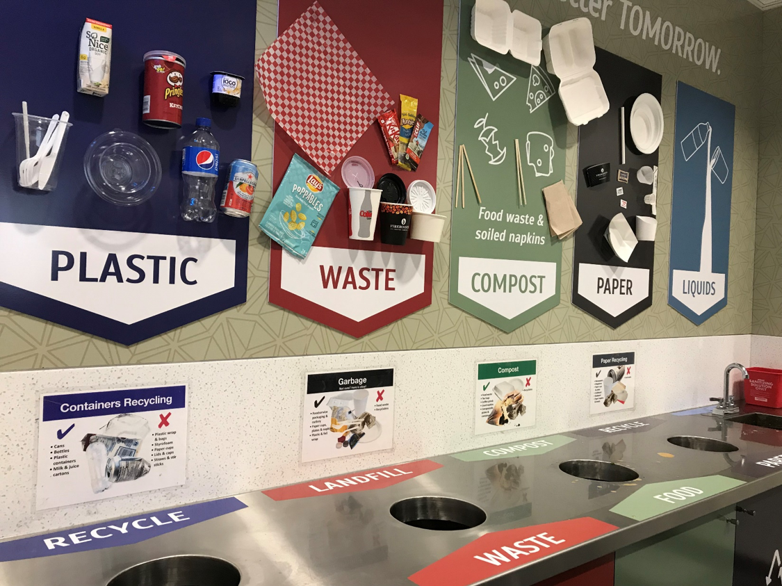 colman commons waste room