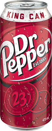 Dr Pepper 473mL King Can