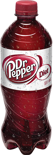 Diet Dr Pepper 591mL Bottle