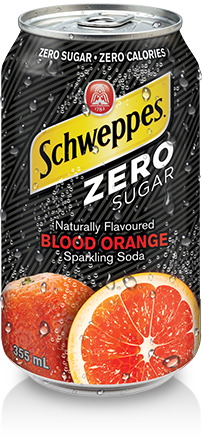 Schweppes Zero Sugar Blood Orange