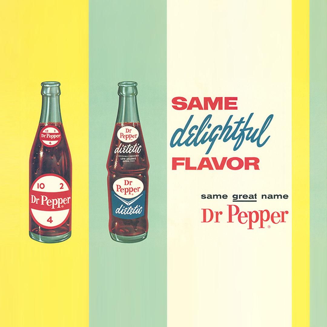 Dr Pepper vintage ad